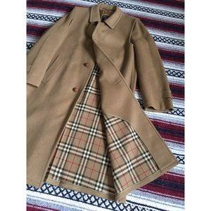Vintage Burberry Original Loden Trench Coat